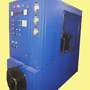 Industrial Air Cooled Chiller Manufacturers India